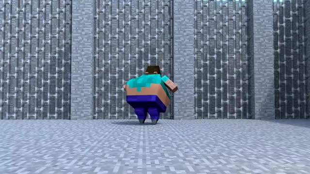 Watch and share Fat Herobrine GIFs and Cursed Image GIFs on Gfycat