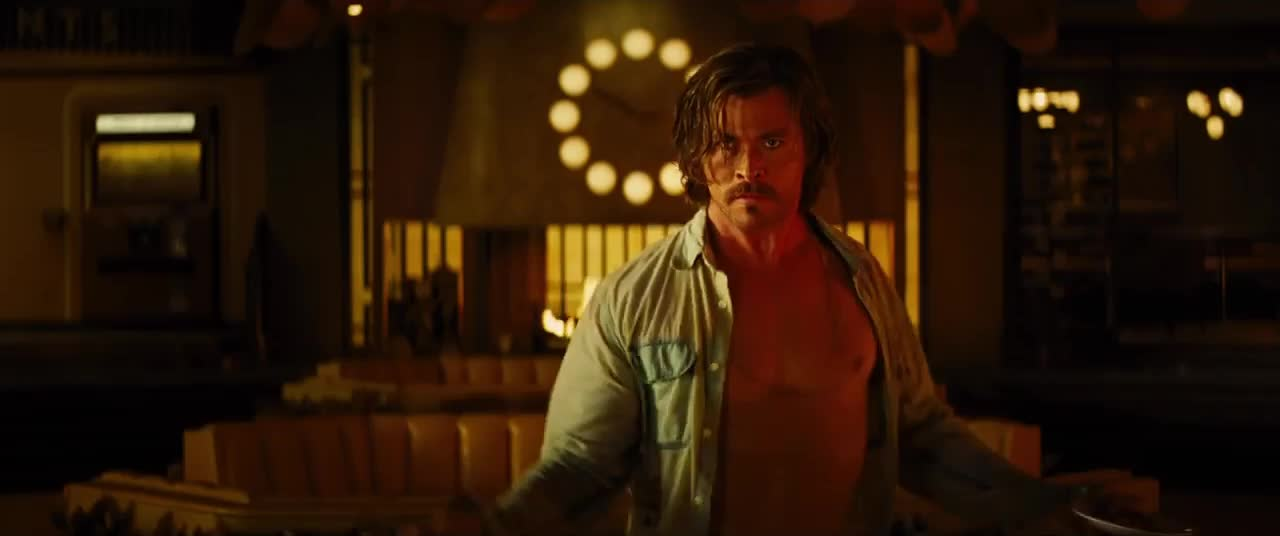 bad times at the el royale, chris hemsworth, dancing, Those dance moves GIFs