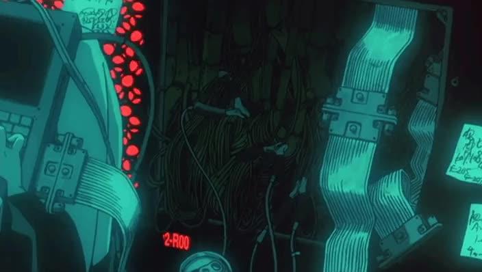 Misato Hacking Nerv : evangelion GIFs