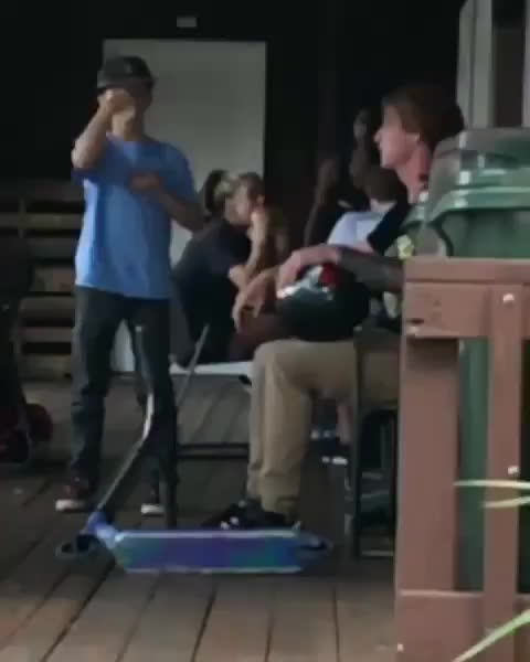 holdmyredbull, scooter, HMRB as I put on a scooter clinic GIFs