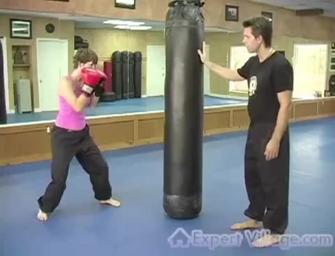 Watch Kickboxing Exercises : Kickboxing: punches GIF on Gfycat. Discover more related GIFs on Gfycat