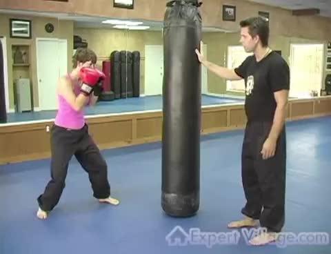 Kickboxing Exercises : Kickboxing: punches GIFs