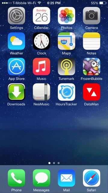 iPhone Moasic GIFs