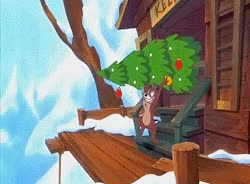 Watch and share Mickey's Once Upon A Christmas Photo: Stuck On Christmas - Chip N' Dale GIFs on Gfycat