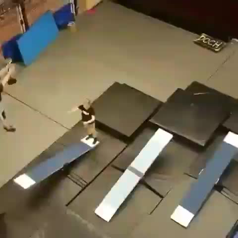 Watch and share Domino Teeterboard Performance GIFs by tothetenthpower on Gfycat