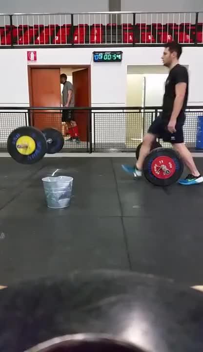 CrossFit - High Five 2017 - Wod 2 GIFs