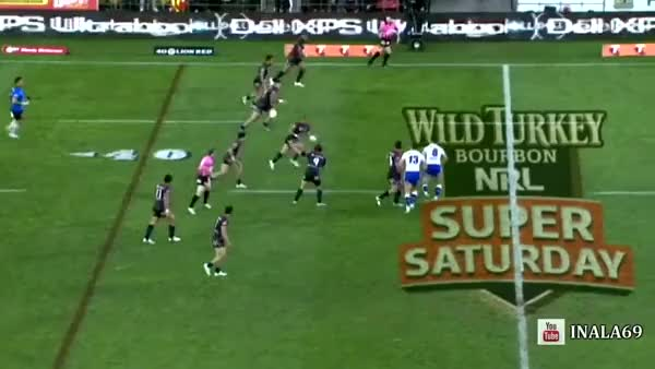 Watch and share [Rugby League] The Beast Finishes Off A Great Bit Of Team-play (reddit) GIFs on Gfycat