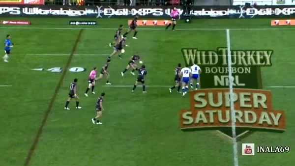 HighlightGIFS, highlightgifs, [Rugby League] The beast finishes off a great bit of team-play (reddit) GIFs