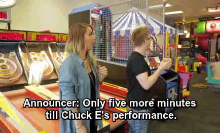 Watch and share Chuck E Cheese GIFs and Jenna Marbles GIFs on Gfycat