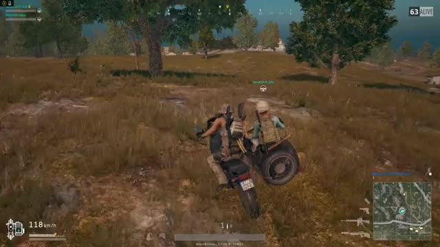 Watch Bikes are solid vehicles GIF by Beep Boop (@hockeyrobotthing) on Gfycat. Discover more Battlegrounds, PUBATTLEGOUNDS, PUBG GIFs on Gfycat