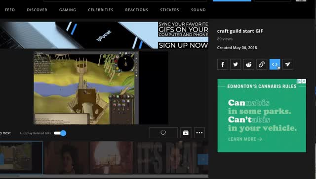Watch and share Embed Code Location GIFs by Danno on Gfycat