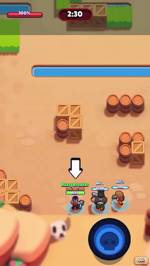 Watch and share Brawl Stars RustyBreaker GIFs by rustybreaker on Gfycat