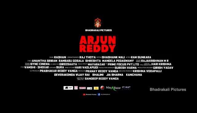 Watch and share Arjun Reddy Movie Theatrical Trailer   Vijay Deverakonda   Shalini   Radhan   Bhadrakali Pictures GIFs on Gfycat
