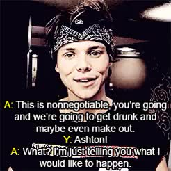 Watch and share 5 Seconds Of Summer GIFs and Ashton Irwin Au GIFs on Gfycat