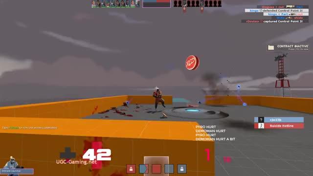 Watch demo dies GIF by kingo (@kingdingah) on Gfycat. Discover more cp_orange, demoman., team fortress 2, tf2, x10 randomizer GIFs on Gfycat