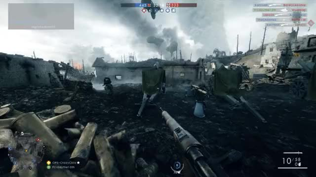 Watch and share Bayonet Charged While Bayonet Charging GIFs on Gfycat