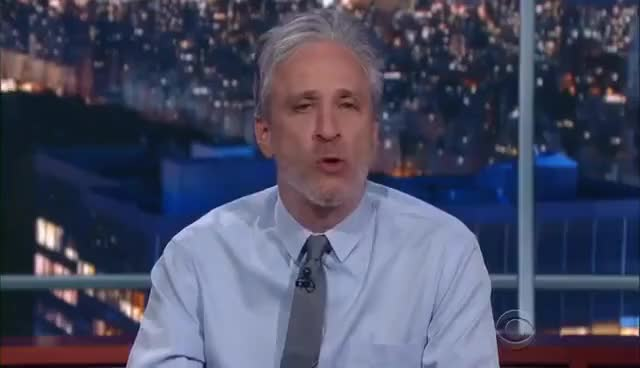 Watch and share Jon Stewart To The Media: It's Time To Get Your Groove Back GIFs on Gfycat