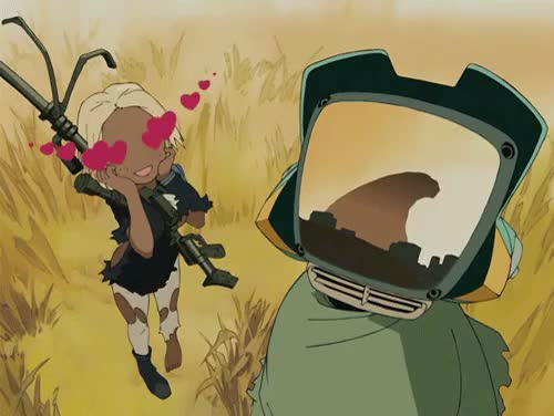 Watch this GIF on Gfycat. Discover more Canti, FLCL, Fooly Cooly, Kitsurubami, TV-kun, anime GIFs on Gfycat