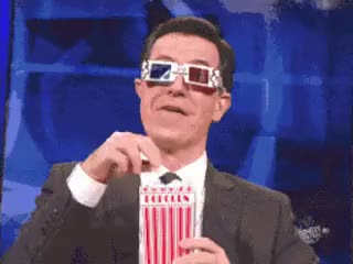 Watch stephen colbert popcorn GIF on Gfycat. Discover more stephen colbert GIFs on Gfycat