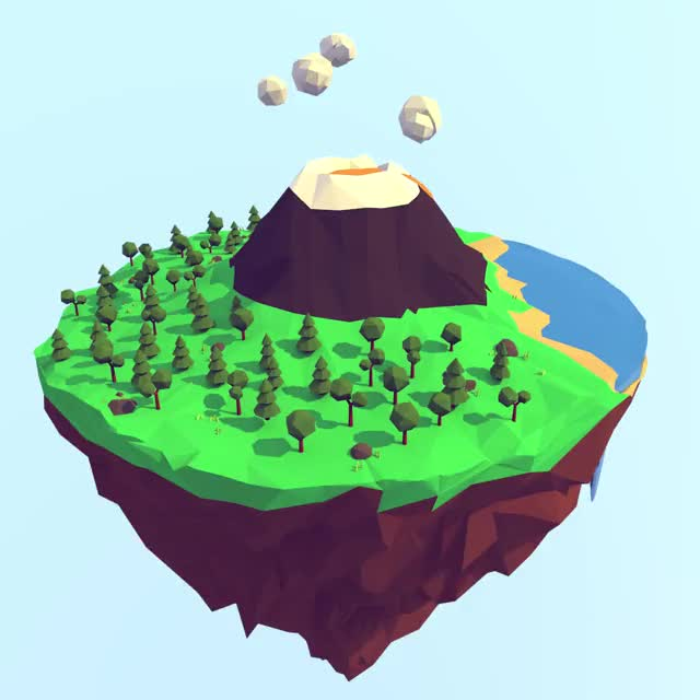 Watch and share Lowpoly GIFs by peroyvind on Gfycat