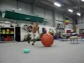 Watch and share Exercise GIFs and Ball GIFs on Gfycat