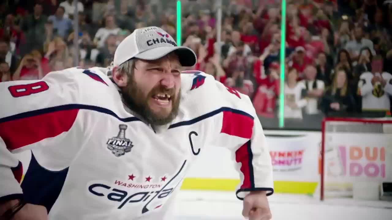 hockey, Alex Ovechkin raises Stanley Cup GIFs