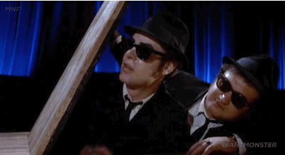1980s, Dan Aykroyd, John Belushi, blues brothers, bye, byeee, farewell, goodbye, peace out, see ya, Blues Brothers Bye GIFs