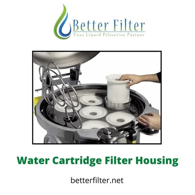 Watch and share Water Cartridge Filter Housing – Singapore GIFs by betterfilter on Gfycat