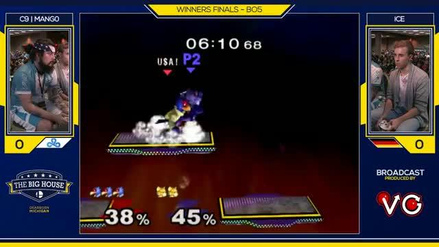 TBH6 SSBM - C9 | Mang0 (Falco) Vs. Ice (Fox) - Smash Melee Winners Semifinals