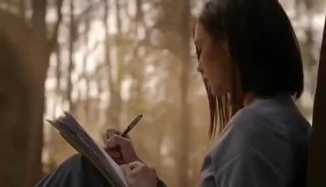 The Vampire Diaries: 8x16 - End Ending: Damon and Elena human together [HD] GIFs