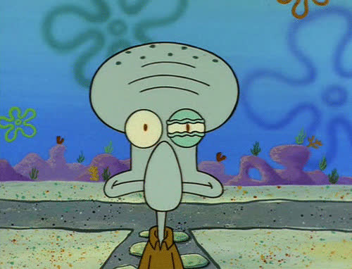 angry, furious, irritated, mad, rage, seething, squidward, Squidward Irritated GIFs