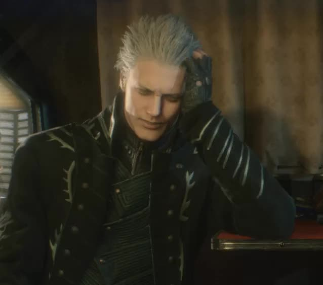Watch and share Vergil Wtf GIFs on Gfycat