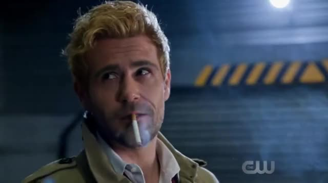 Watch and share DCs Legends Of Tomorrow 3x10 Ending Scene Constantine Leaves Waverider And Sara/Eva Scene GIFs on Gfycat