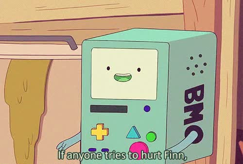 Watch and share 1k Finn The Human Adventure Time Finn Beemo Bmo GIF MAKING FIEND GIFs on Gfycat