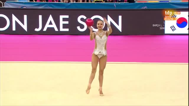 Watch and share Rhythmic Gymnastics GIFs and Son Yeon Jae GIFs by sephorria on Gfycat