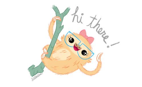 greetings, hello, hi, slothilda, wave, Hi There! GIFs