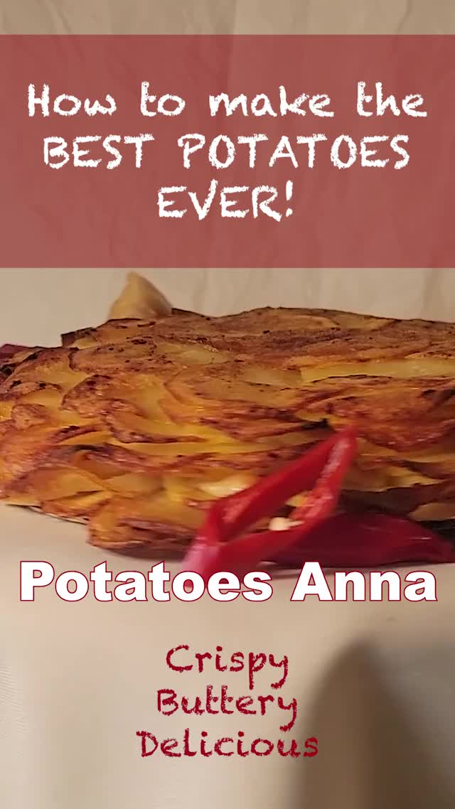 Watch and share Best Potato Dish Ever - Potatoes Anna - Crispy, Buttery, Delicious! GIFs by Exceptional Home Cooking on Gfycat