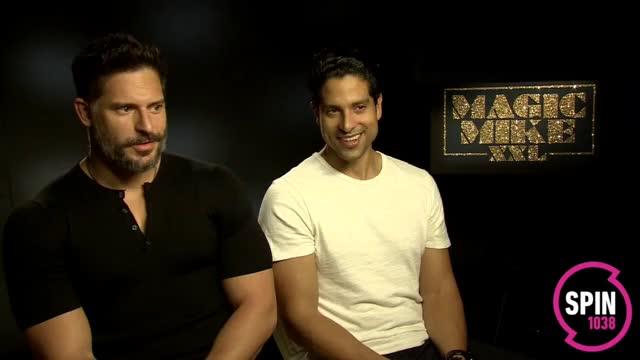 Watch Sarina Bellissimo interviews Joe Manganiello & Adam Rodriguez (MAGIC MIKE XXL) GIF on Gfycat. Discover more celebs, joe manganiello GIFs on Gfycat