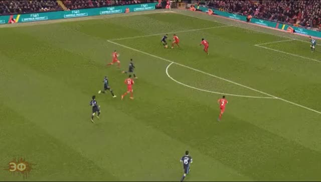 Watch and share Jon Flanagan Tackle GIFs by Эстетика Футбола on Gfycat