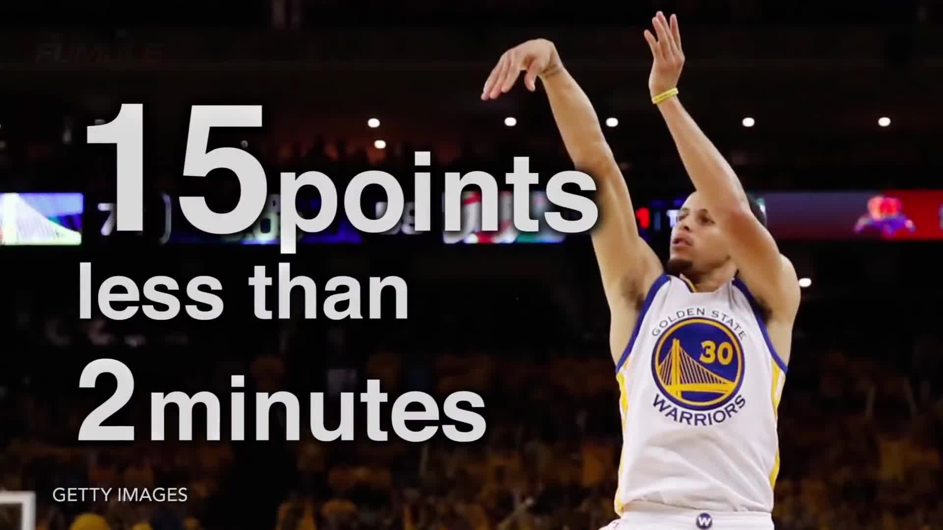 gets punched by fan, golden state warriors, kd, kevin durant, oklahoma city thunder, playoffs, steph curry, steph gets punched, stephen curry, steps on curry, thunder vs. warriors, Stephen Curry 15 points in less than 2 minutes GIFs