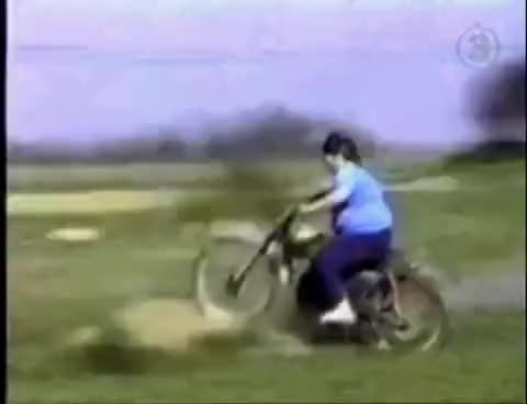 Watch and share Fat Woman Motorcycle Crash GIFs on Gfycat