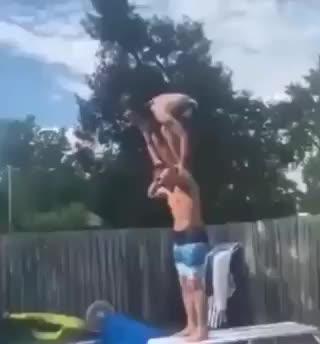 Diving Board Trick