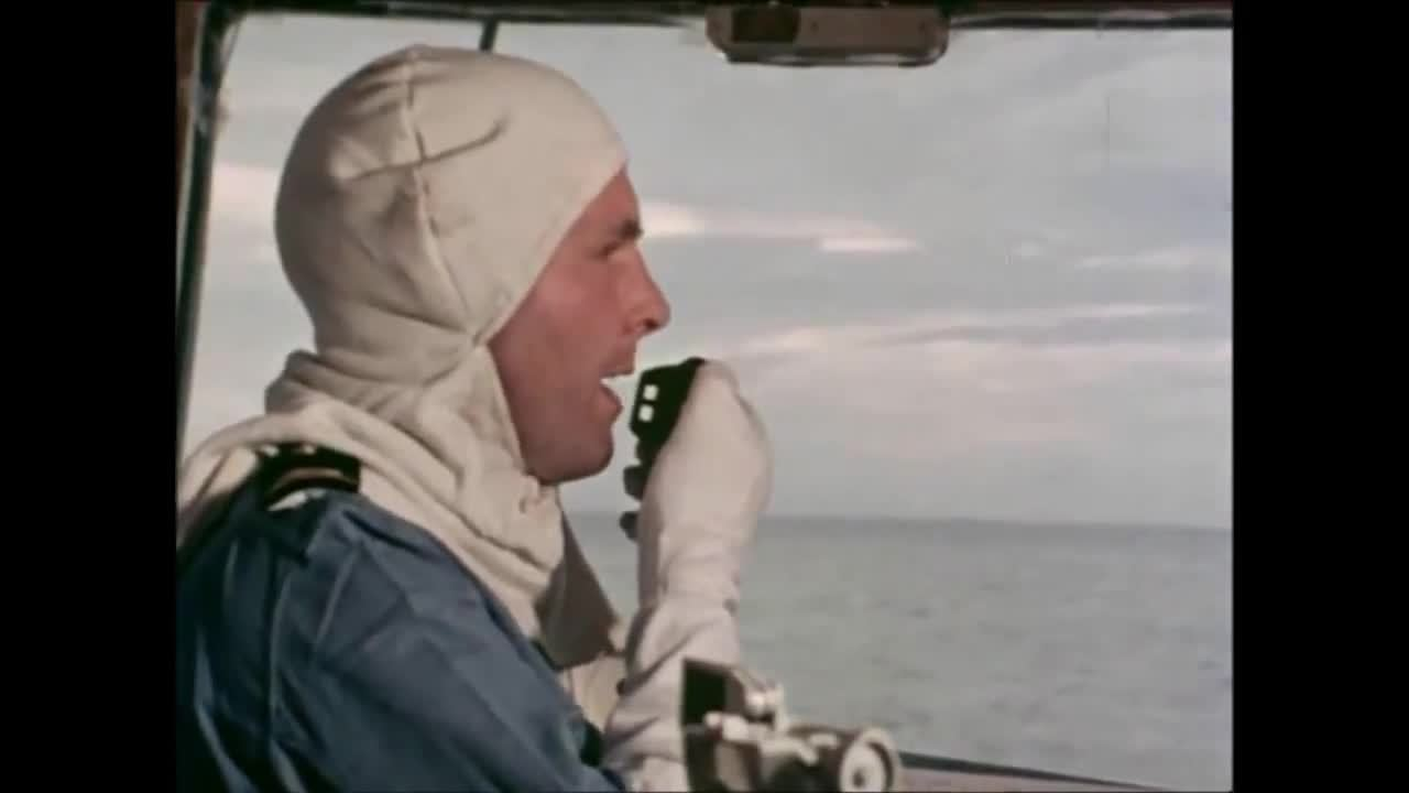 WarshipGfys, warshipgfys, HMS Fife (D20) gunnery exercise ~1975 (reddit) GIFs