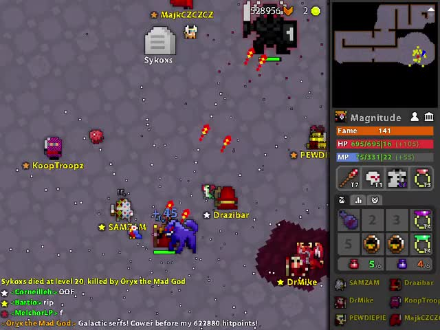 Watch Rip PEWDlEPIE GIF by Magnitude (@magnitude) on Gfycat. Discover more rotmg GIFs on Gfycat
