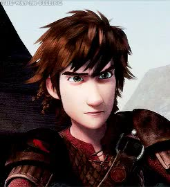 Watch Hiccup's face in this scene was pure gold x'DD[245px]  GIF on Gfycat. Discover more 500 plus, HTTYD, Hiccup, How To Train Your Dragon, Race to the Edge, Reaction gifs, my gifs GIFs on Gfycat