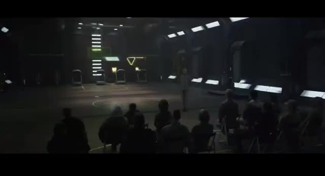 Watch and share Weyland Corporation GIFs and Charlize Theron GIFs on Gfycat