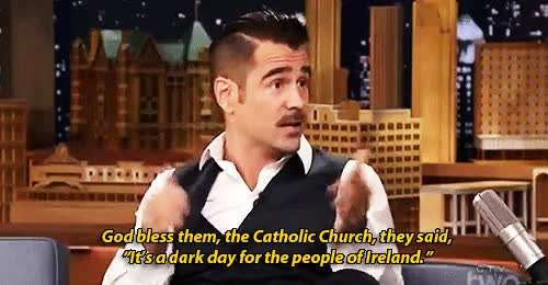 Watch and share The Tonight Show GIFs and Colin Farrell GIFs on Gfycat