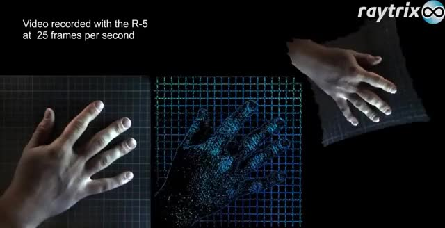 Watch Raytrix 3D light field technology -- Hand 25FPS R5 video GIF on Gfycat. Discover more related GIFs on Gfycat