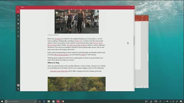 Watch and share Windows 10 Fall Creators Update: Joe Belfiore Demos Microsoft Fluent Design System And New Features GIFs by Maciej Gajewski on Gfycat
