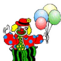 Watch and share Clown Art Cute Clowns Animated Photo: CLOWN Clown52-1.gif animated stickers on Gfycat